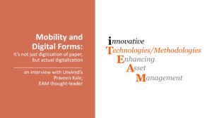 Mobility and Digital Forms