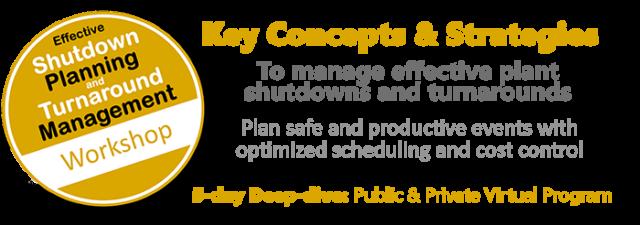 Shutdown Planning and Turnaround Management