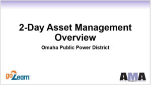 2-day Asset Management Workshop